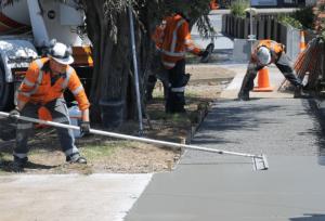 denton concrete contractor - denton concrete crew 4