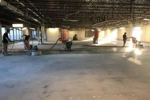 commercial concrete - denton concrete crew
